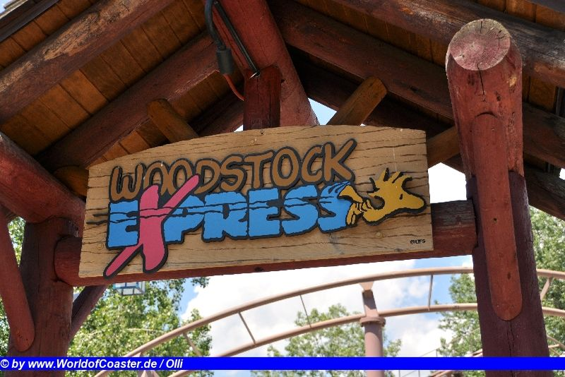 Woodstock´s Express @ Cedar Point
