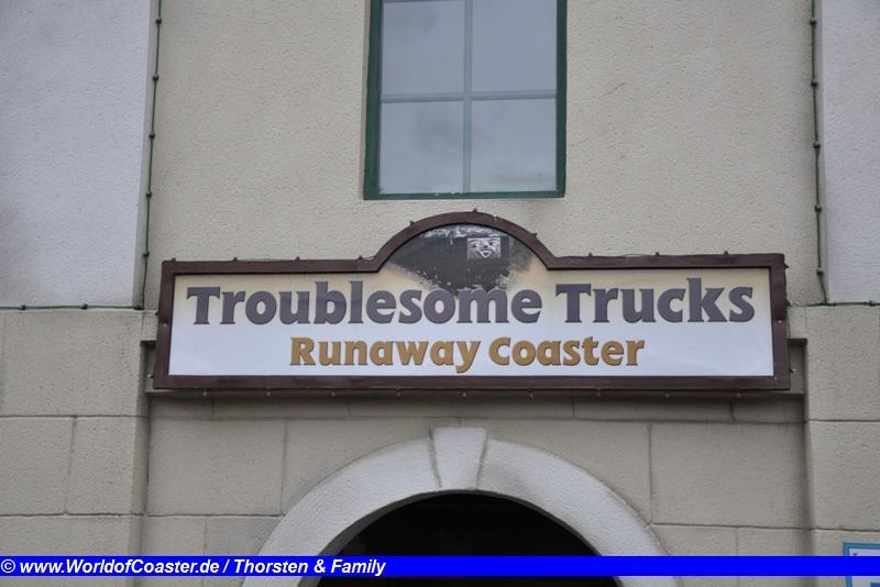 Trouble Trucks Runaway Coaster @ Drayton Manor