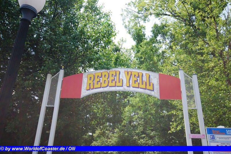Rebel Yell @ Kings Dominion