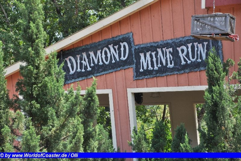 Diamond Mine Run @ Magic Springs