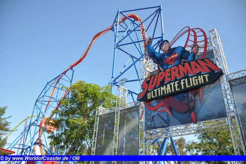 Superman Ultimate Flight @ Six Flags Discovery Kingdom