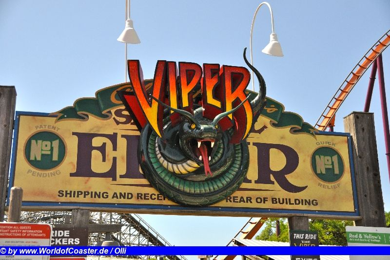 Viper @ Six Flags Great America