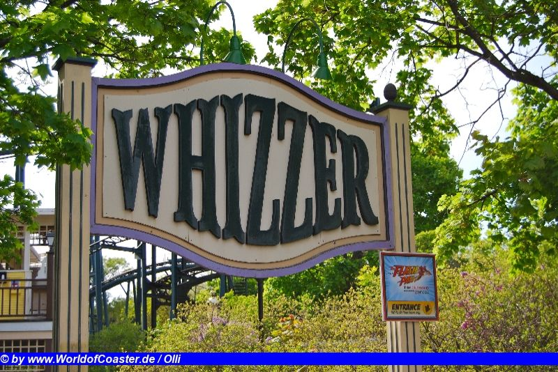 Whizzer @ Six Flags Great America