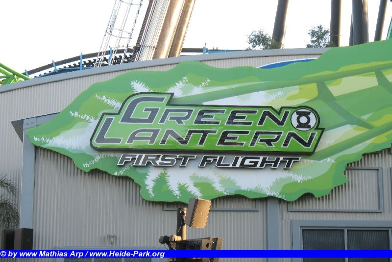 Green Lantern @ Six Flags Magic Mountain