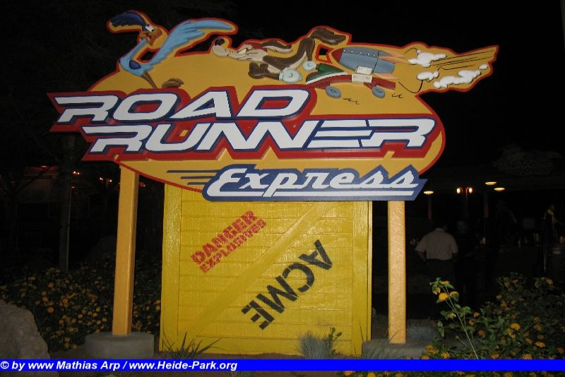 Road Runner Express @ Six Flags Magic Mountain