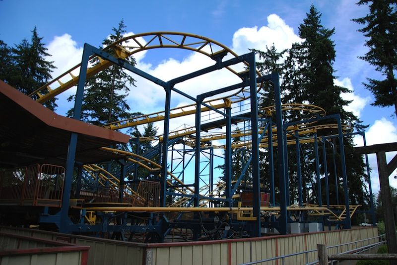 Klondike Gold Rusher @ Wild Waves Theme & Water Park