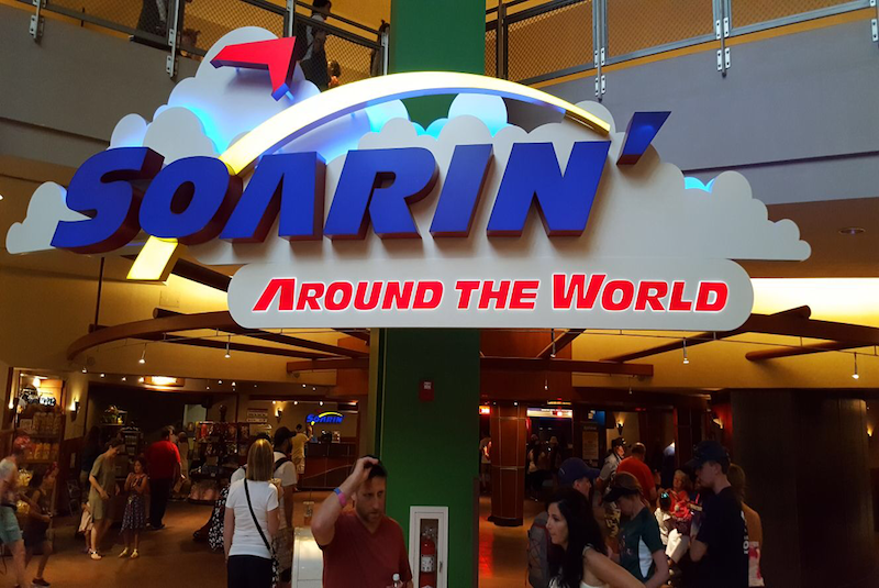 Soarin around the World @ Disney´s Epcot