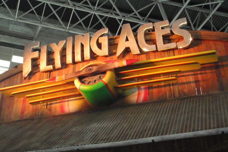 Flying Aces @ Ferrari World Abu Dhabi