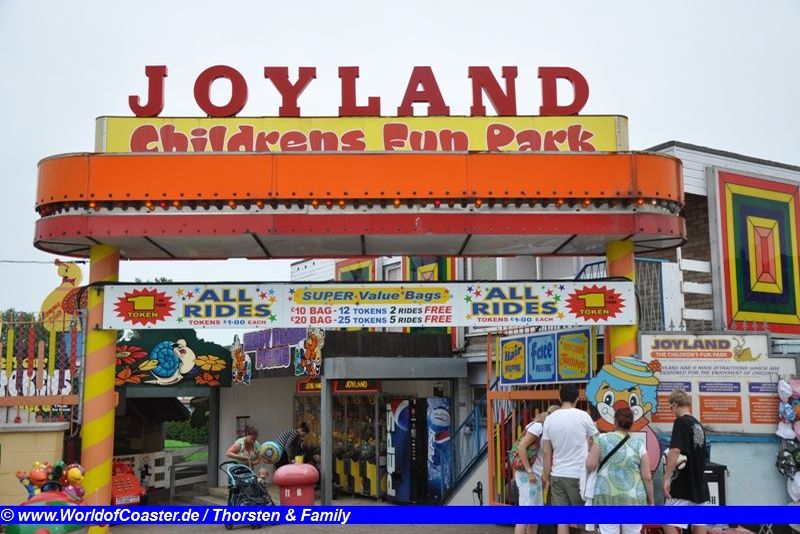 Joyland Amusement Park / UK