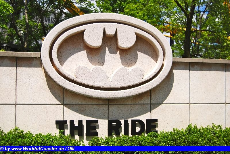 Batman the Ride @ Six Flags Great america