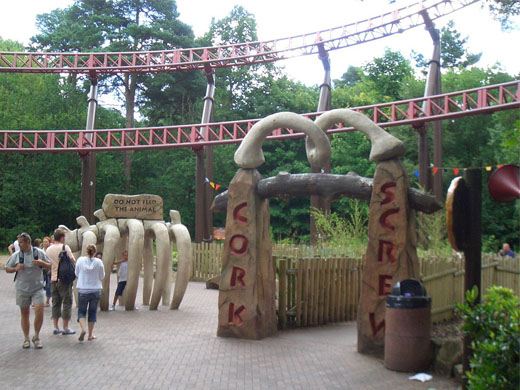 Corkscrew @ Alton Towers