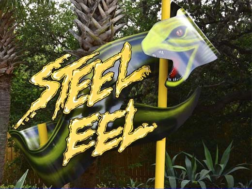 Steel Eel @ Sea World San Antonio