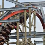 Six Flags Fiesta Texas - Iron Rattler - 021