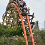 Six Flags Fiesta Texas - Iron Rattler - 032