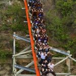 Six Flags Fiesta Texas - Iron Rattler - 033