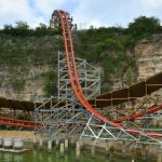Six Flags Fiesta Texas - Iron Rattler - 043