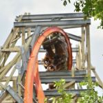 Six Flags Fiesta Texas - Iron Rattler - 051