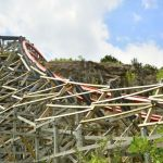 Six Flags Fiesta Texas - Iron Rattler - 052