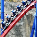 Six Flags Fiesta Texas - Superman Krypton Coaster - 011