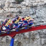 Six Flags Fiesta Texas - Superman Krypton Coaster - 013
