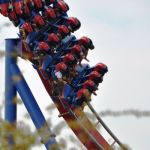 Six Flags Fiesta Texas - Superman Krypton Coaster - 032