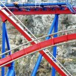 Six Flags Fiesta Texas - Superman Krypton Coaster - 035