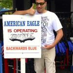 Six Flags Great America - American Eagle backwards - 003