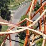Six Flags Magic Mountain - Tatsu - 042