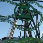 Six Flags Magic Mountain - Green Lantern - 002