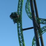 Six Flags Magic Mountain - Green Lantern - 003
