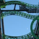 Six Flags Magic Mountain - Green Lantern - 004