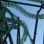 Six Flags Magic Mountain - Green Lantern - 005