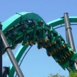 Six Flags Magic Mountain - Riddlers Revenge - 007