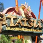 Six Flags Magic Mountain - Tatsu - 001